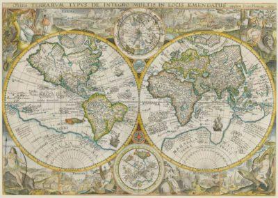 Petrus Plancius, Amsterdam, 1594