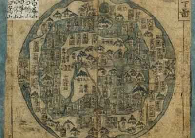 """Anonymous (Korean), Korean """"ch´onhado"""" Manuscript maps, 18th century"""